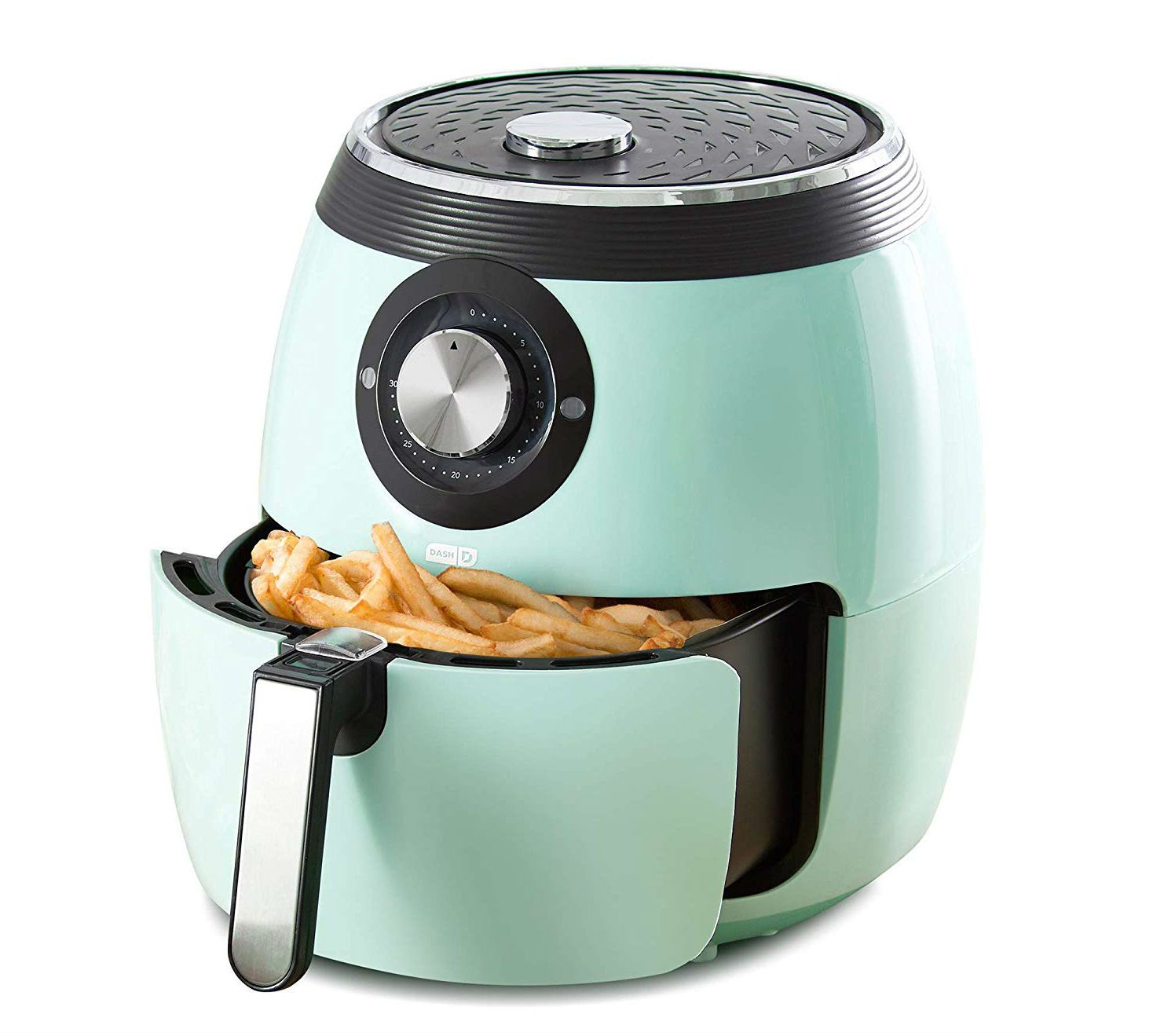 Deluxe Electric Air Fryer + Oven Cooker, 6-Quart