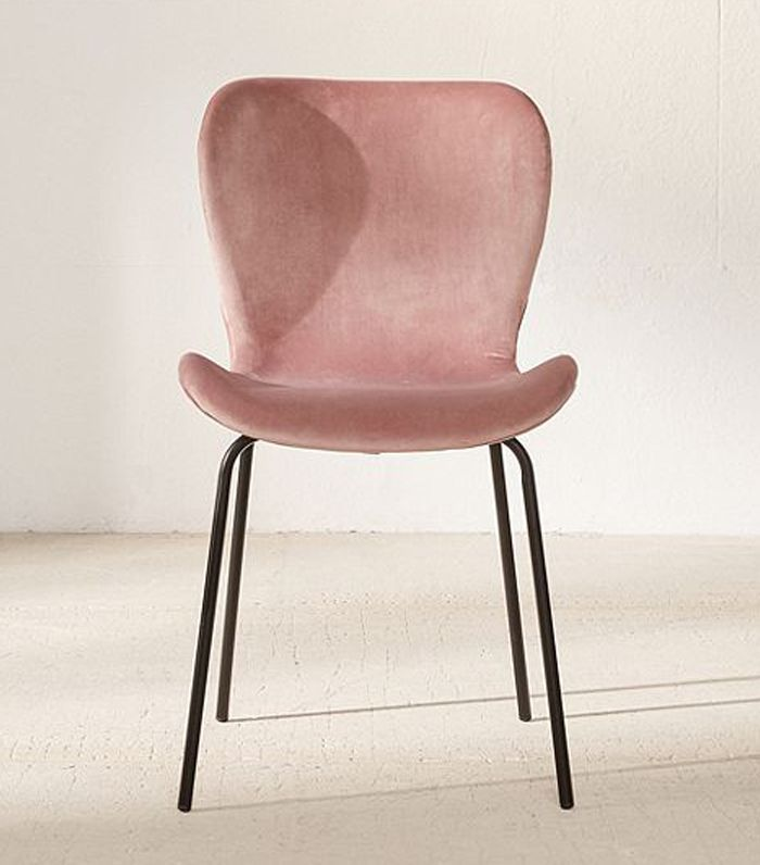 Urban Outfitters Rosa Velvet Dining Chair