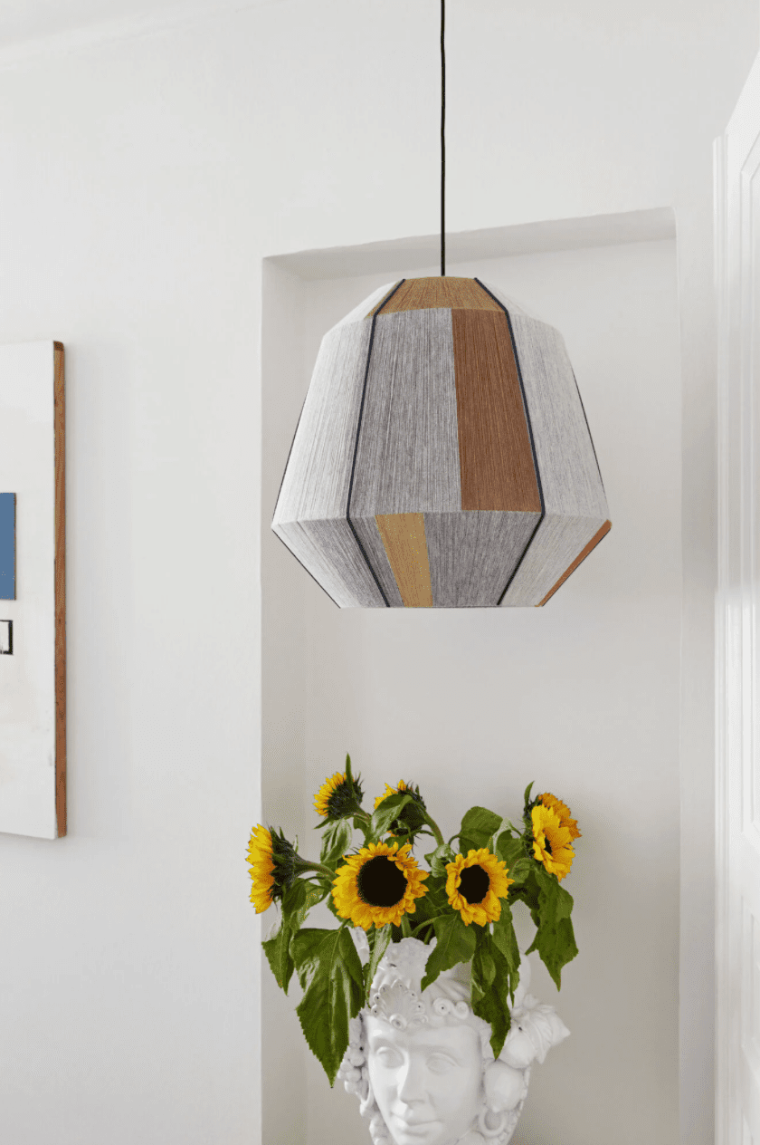 A bold pendant lamp shade, currently for sale at HAY