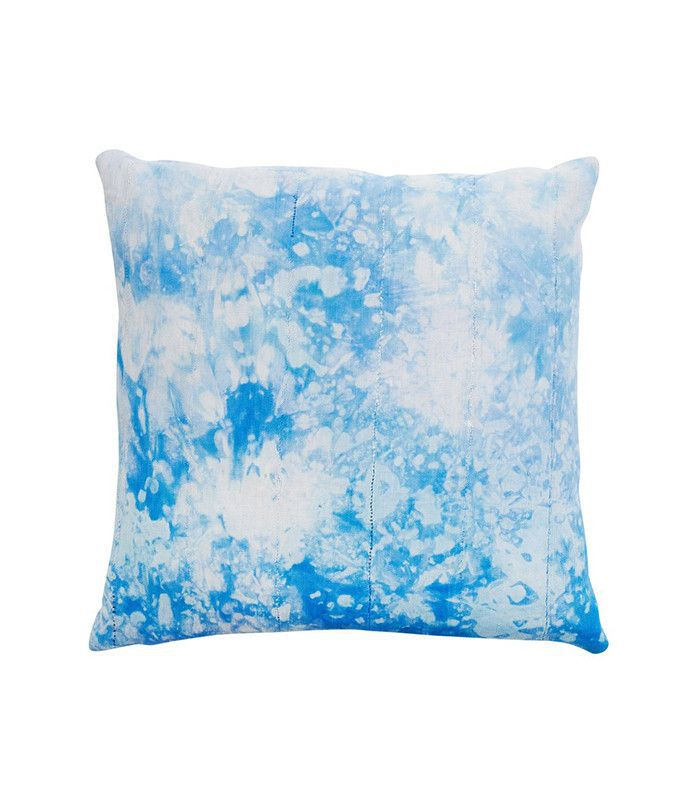 Consort Blue Shibori Pillow