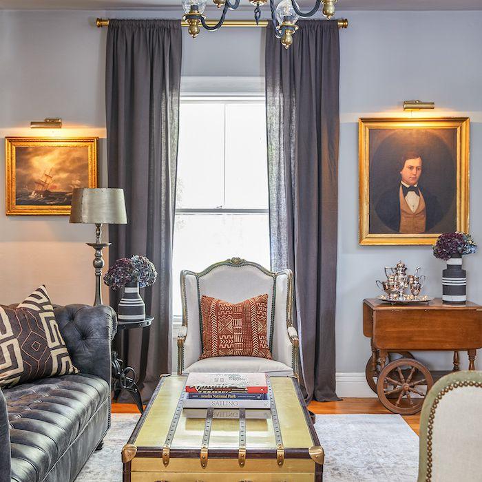 historic living room