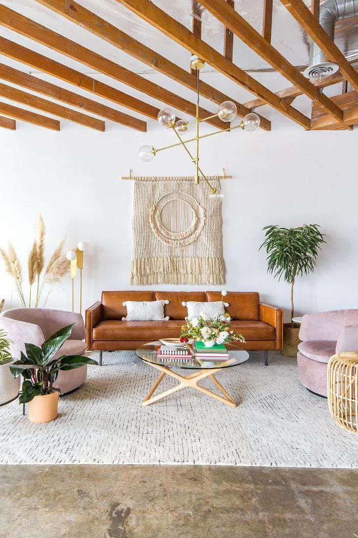 mid-century living room—Festoon event space