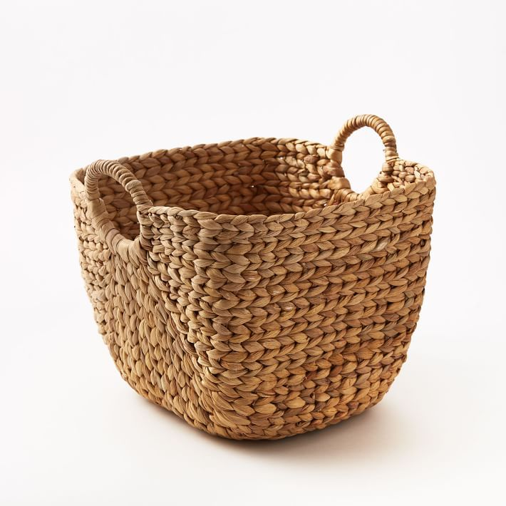 Large Curved Basket—Cheap room decor