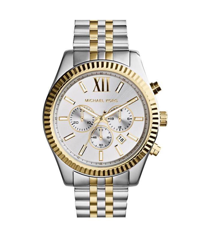 Portia Leather Strap Watch