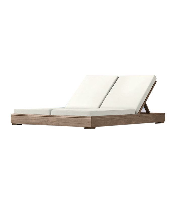 Restoration Hardware Costa Double Chaise