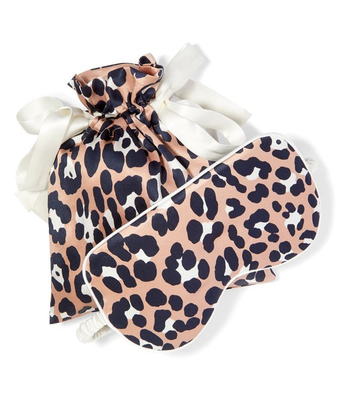 Raelyn Printed Silk-satin Eye Mask