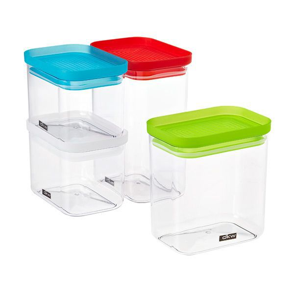 The Container Store Rectangular Canisters