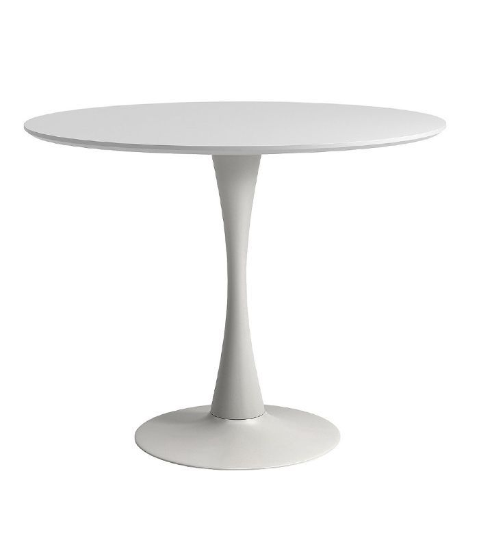 Aeon Round Dining Table With Tulip Style Base