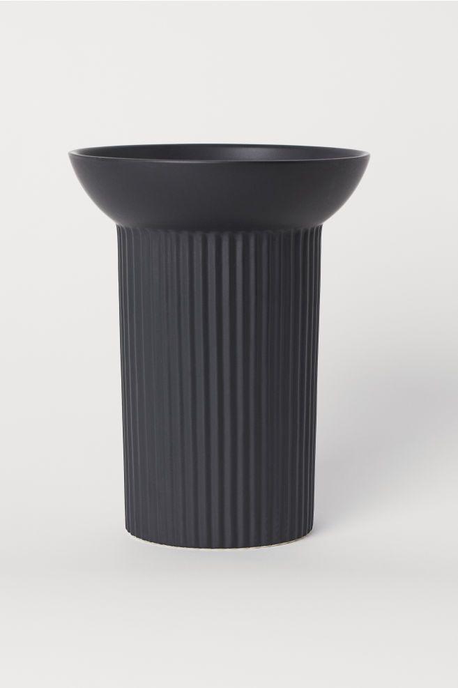 H&M Home Large Stoneware Vase