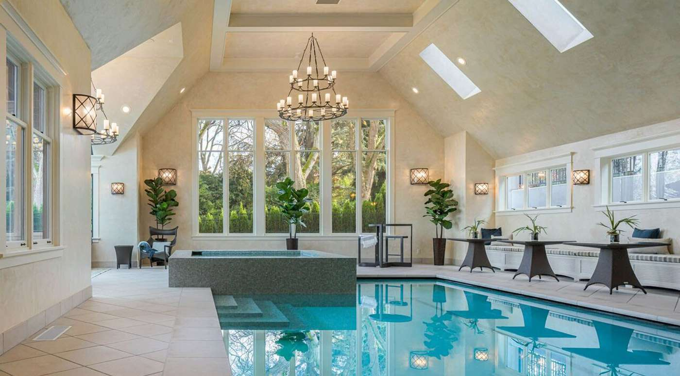 indoor poolside decor ideas