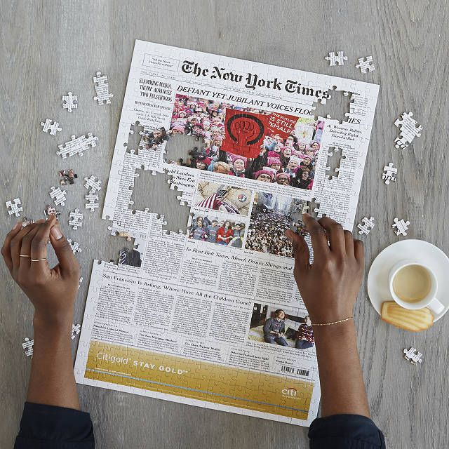 Uncommon Goods New York Times Custom Front Page