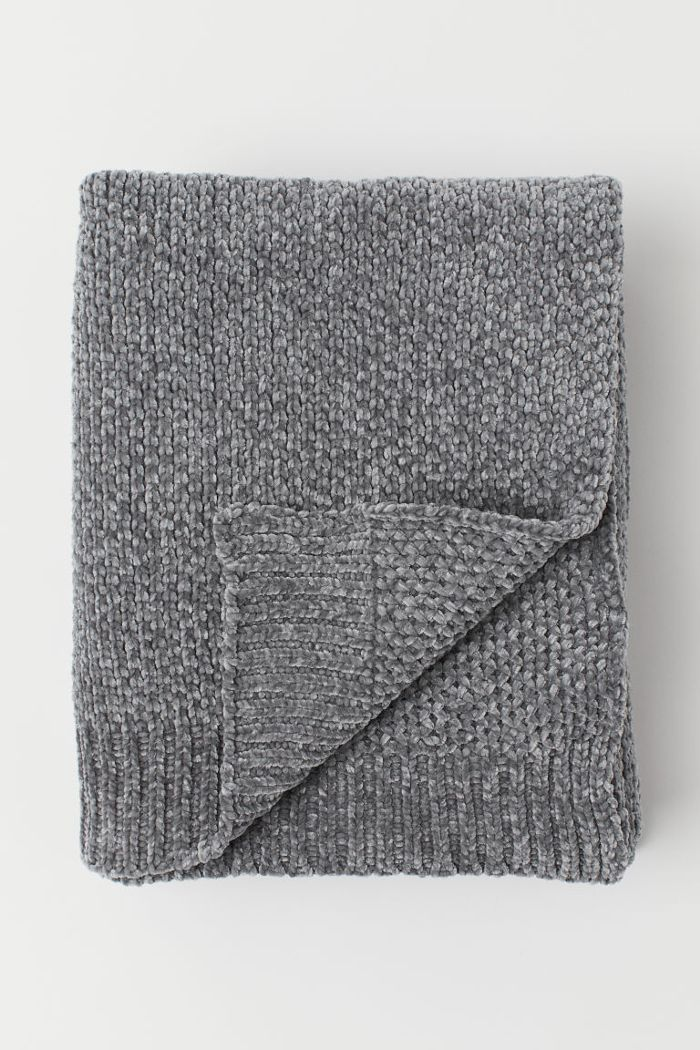 H&M Chenille Throw