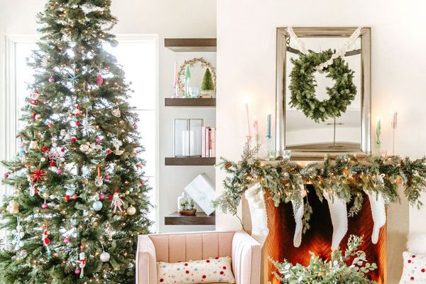 cheap holiday decor from Target
