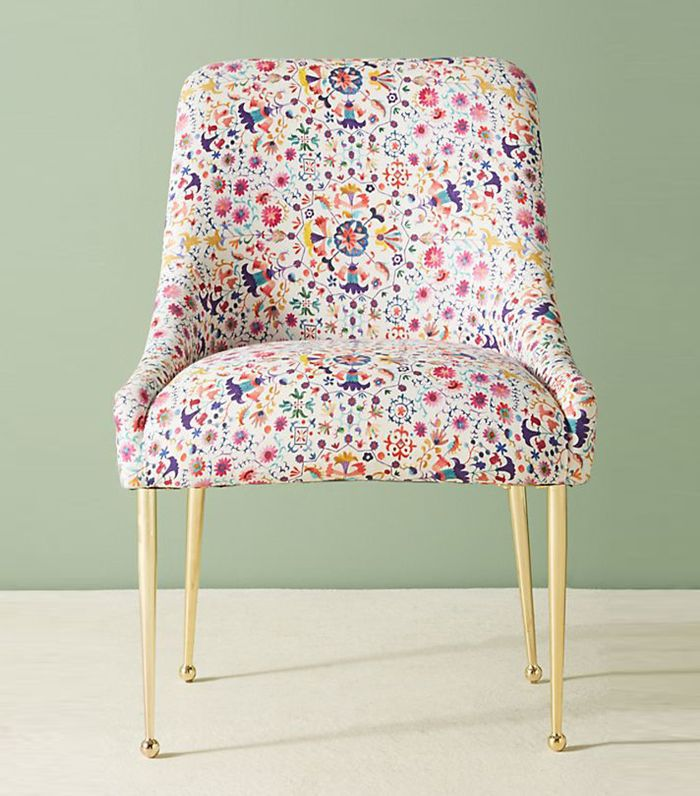 Anthropologie Badia-Printed Elowen Chair