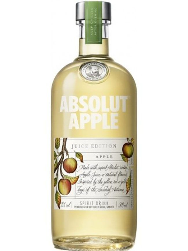 absolut apple juice