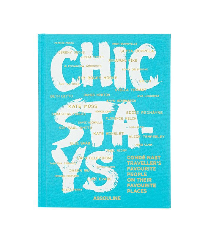 chic travel book
