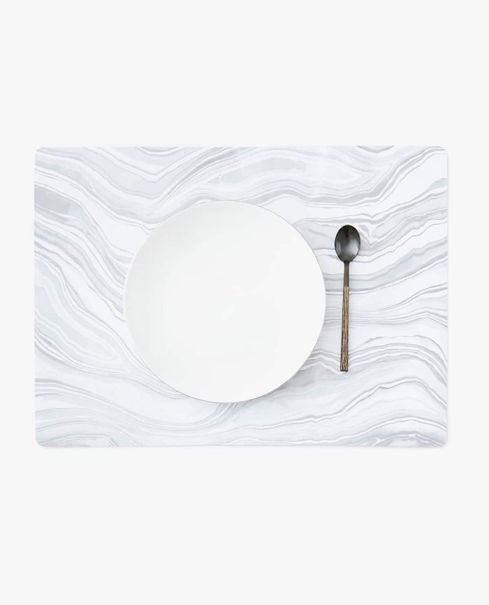 Zara Home Marble Effect Placemat, Pack of 4