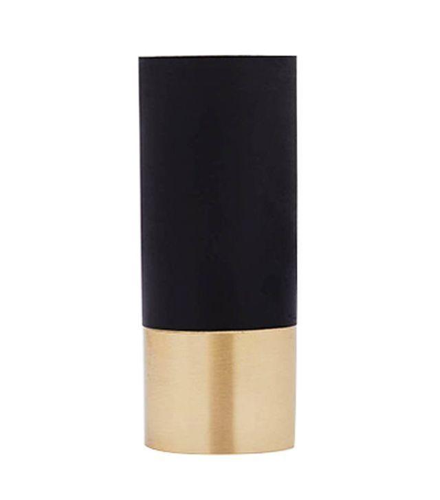 &Tradition Black Brass True Colour Vase