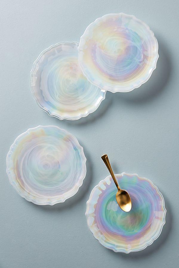 Quant Dessert Plates, Set of 4