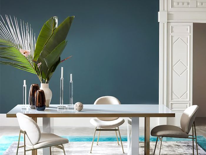 West Elm dining area