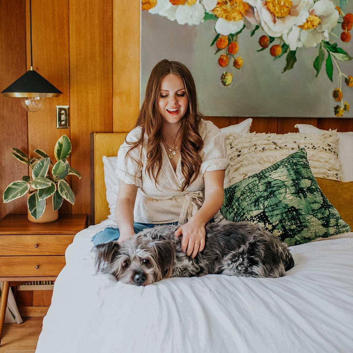 Claire Thomas: dormitorio principal