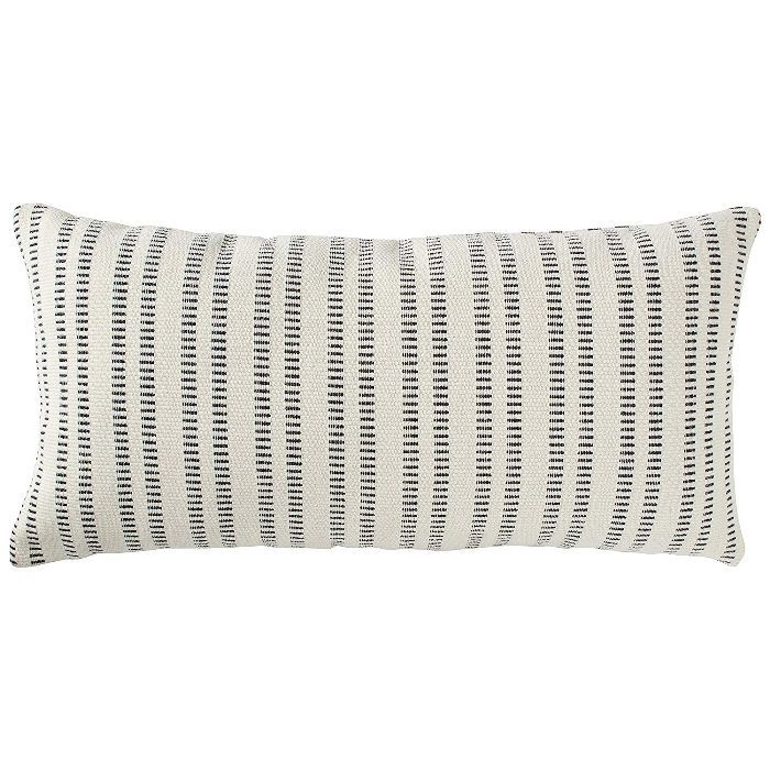 Stone & Beam French Laundry Stripe Pillow