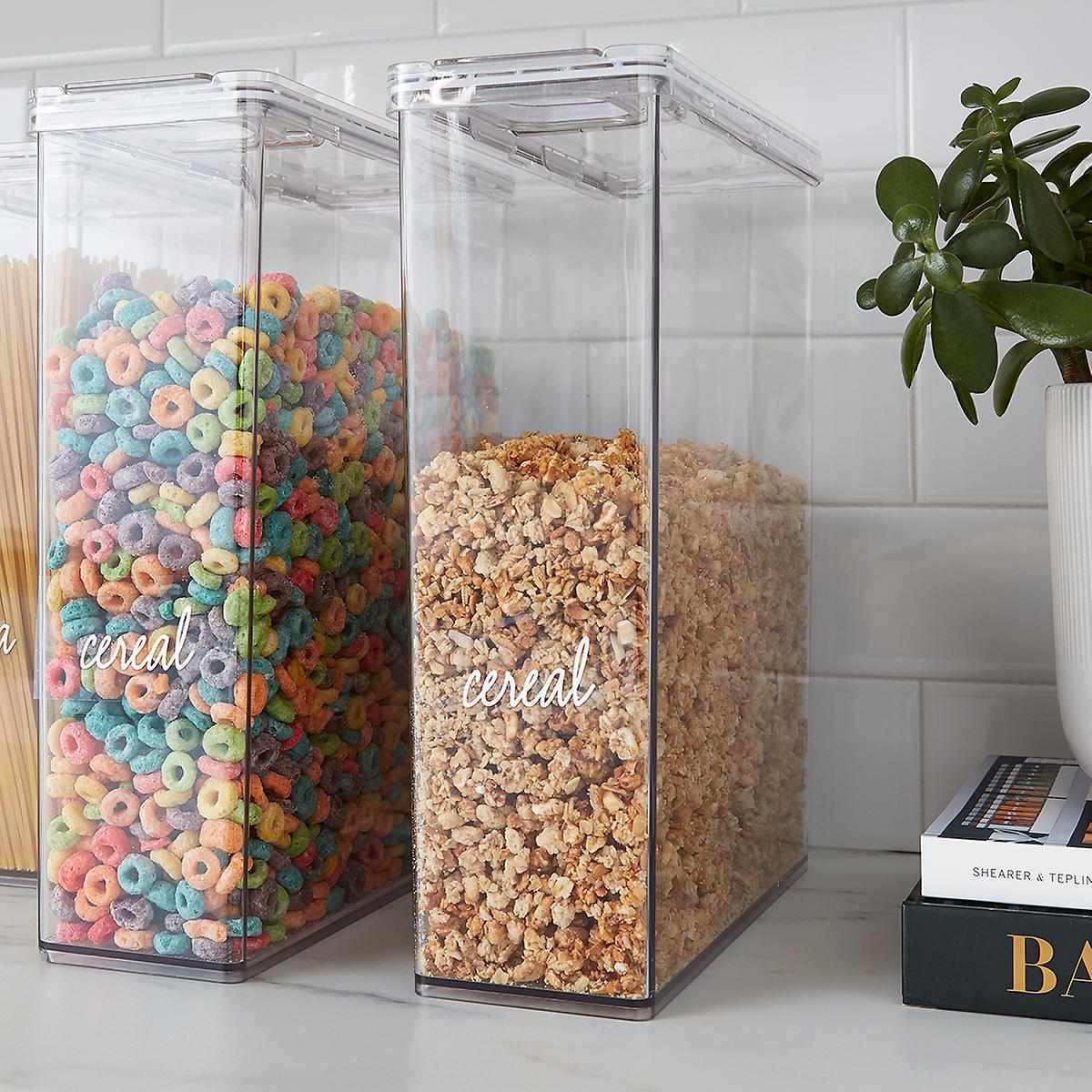 THE HOME EDIT T.H.E. Cereal Canister Clear