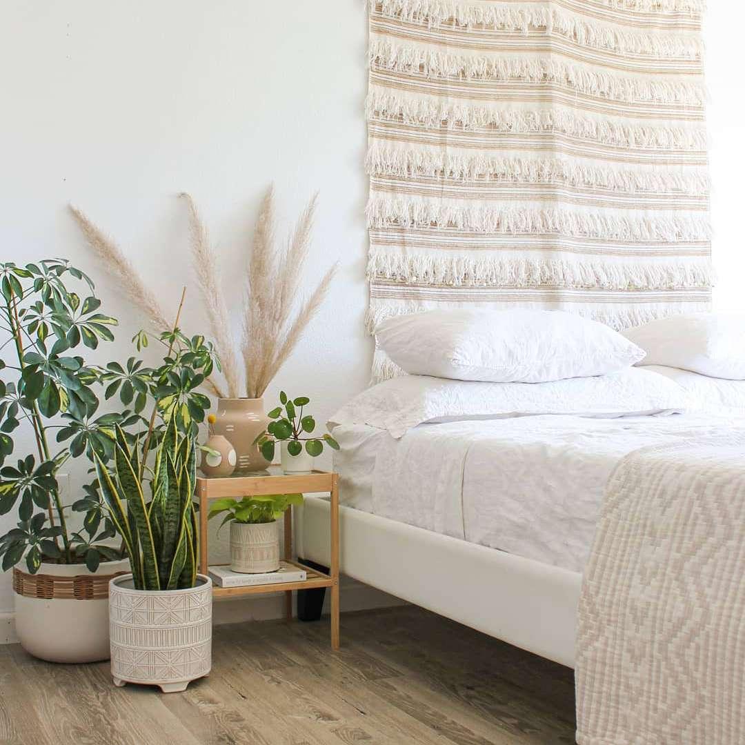 light cozy bedroom