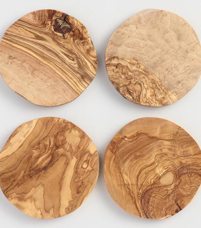Olivewood Coasters Set of 4 by World Market