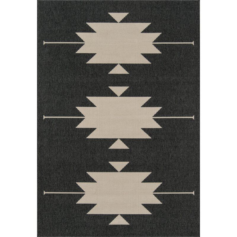 graphic outdoor rug