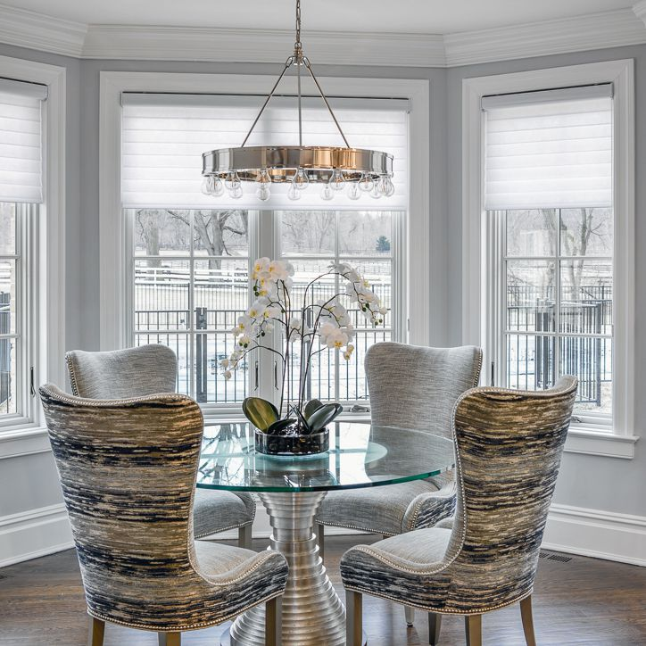 pewter dining room