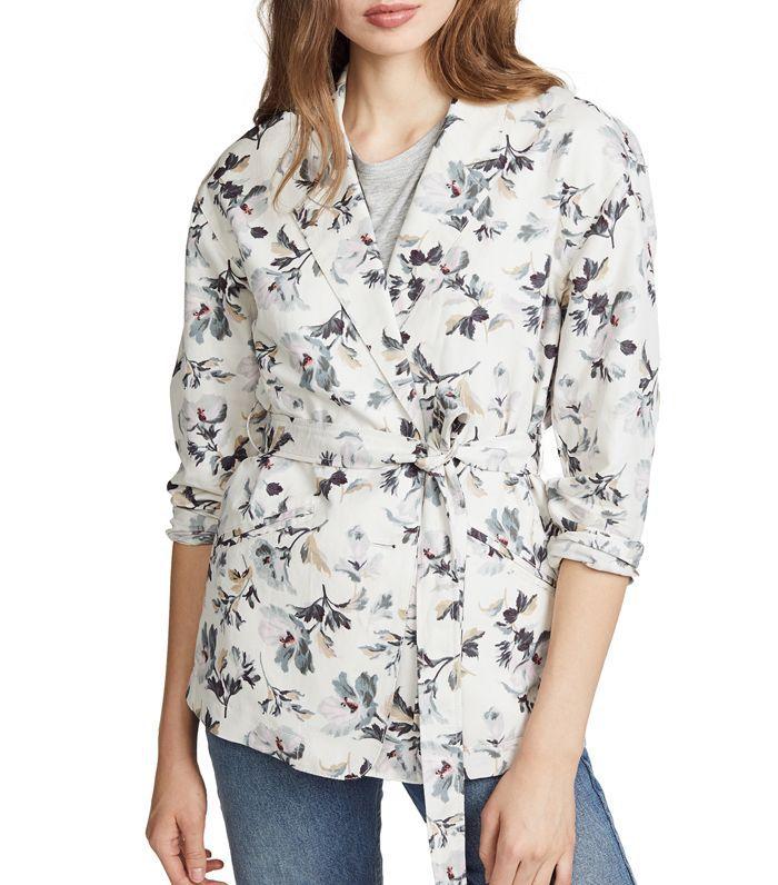 Printed Linen Jacket