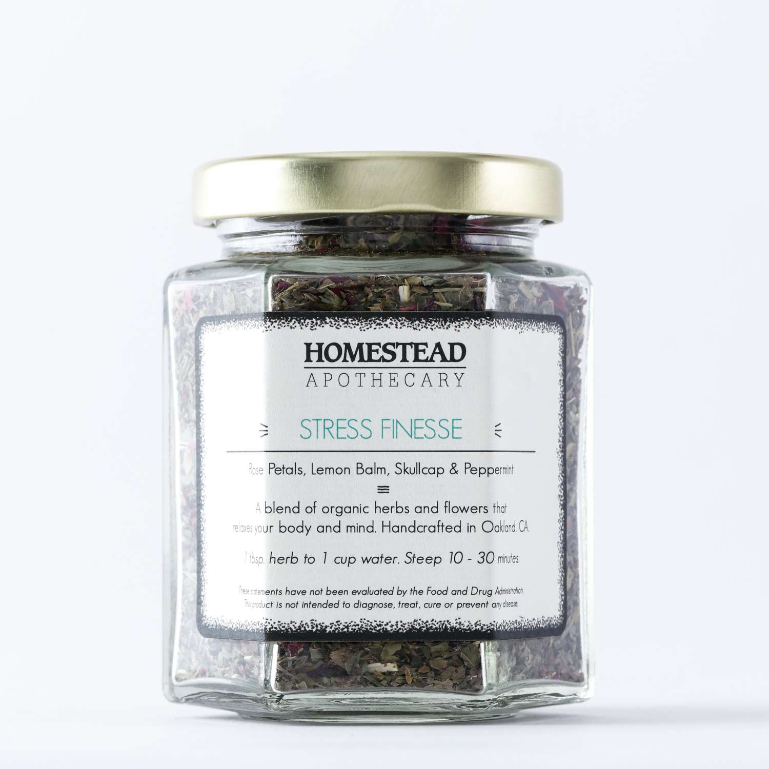 Homestead Apothecary Stress Finesse