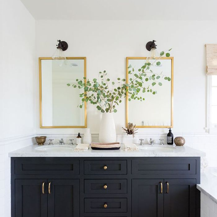 White bathroom paint