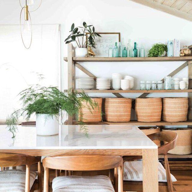 baskets kitchen organization