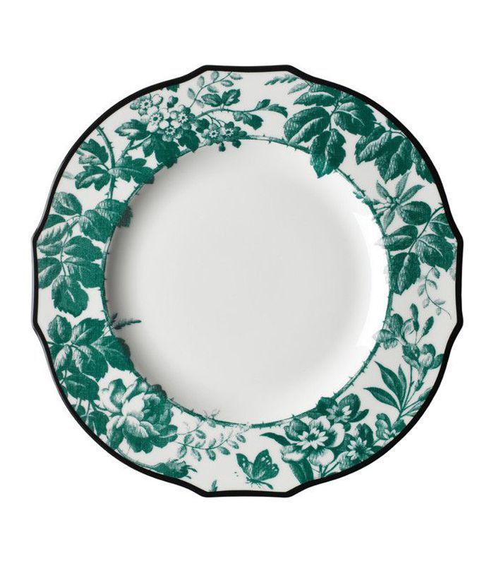 Herbarium porcelain dinner plate set