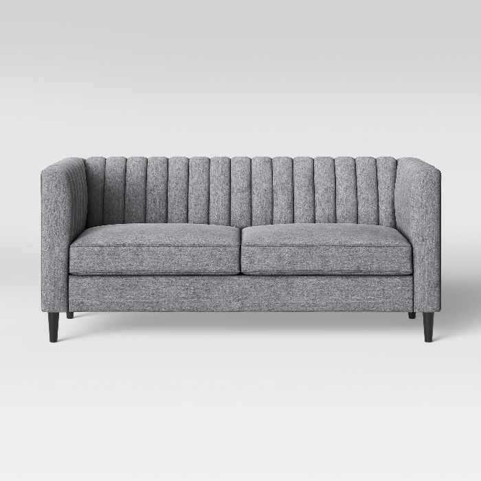 Project 62 Calais Sofa with Channel Tufting
