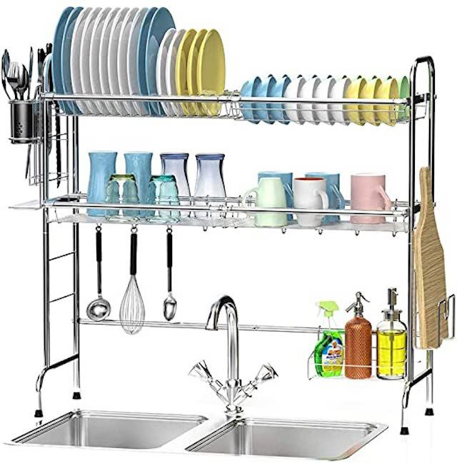 Ace Teah Over The Sink Dish Drying Rack