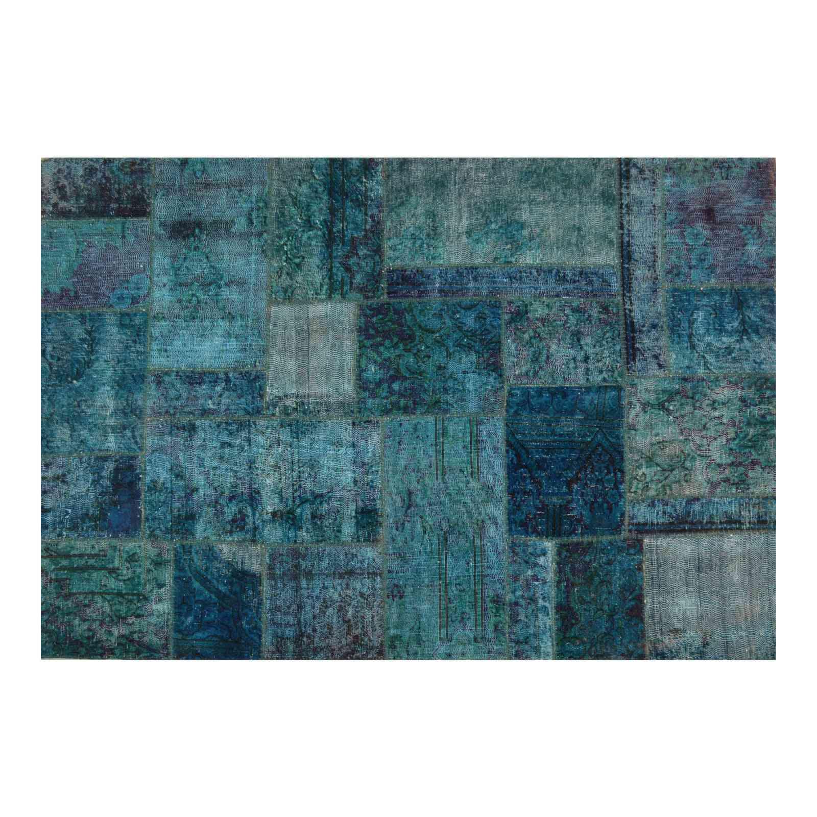 Alfombra persa vintage patchwork