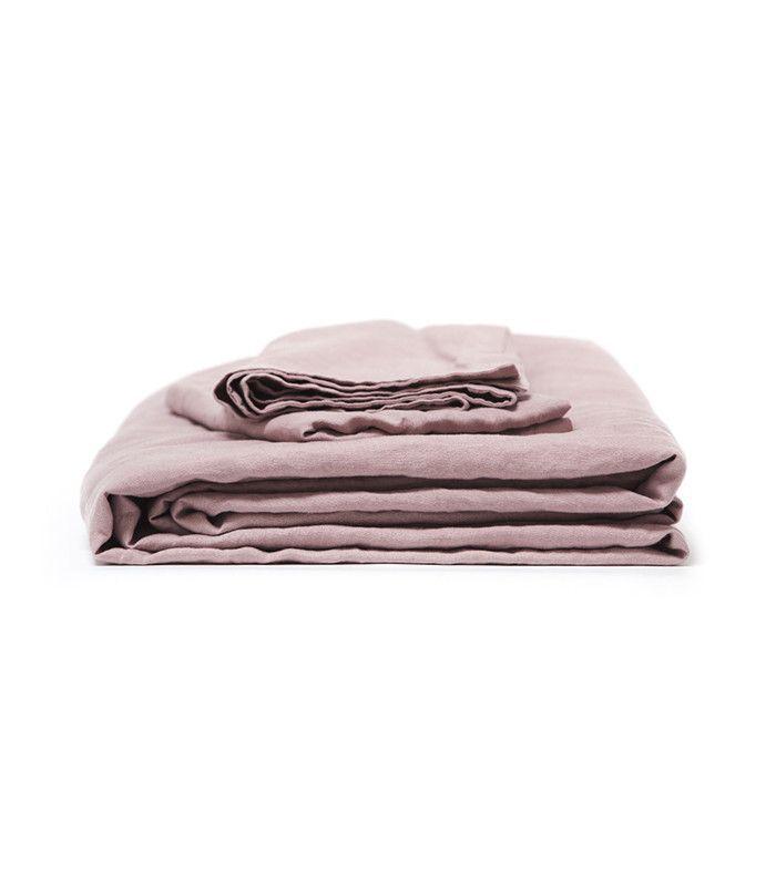 Morrow Vintage Washed French Linen Duvet Set