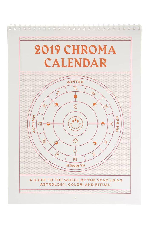 Iriseyris 2019 Chroma Calendar
