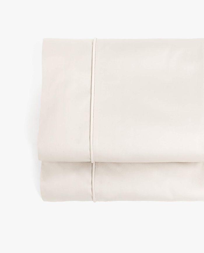 Zara Home 500-Thread-Count Sateen Flat Sheet