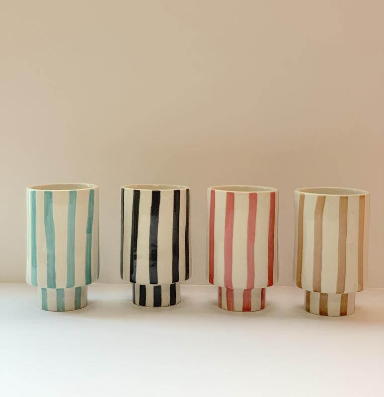 Striped Kaya Cups by Justina Blakeney®