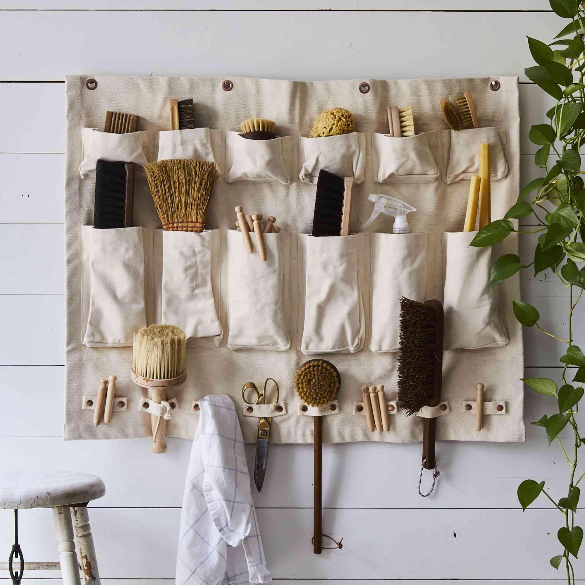 canvas wall organizer