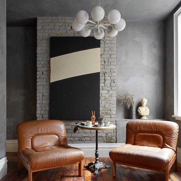 Leanne Ford: sala de estar moderna