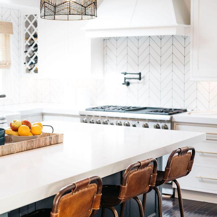 Trish y Billy Ray Cyrus: cocina moderna