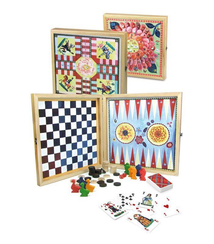 Lilac Classic Games Box Nathalie Lété