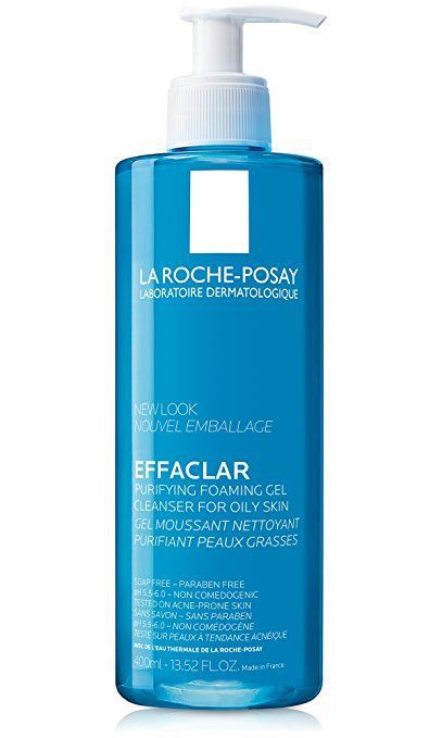 Effaclar Facial Cleanser for Oily Skin Purifying Foaming Gel Face Wash 13.5 Fl. Oz