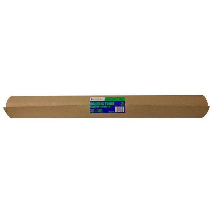 Pratt Retail Specialties Brown Builder's Paper: diseños de paredes de galerías