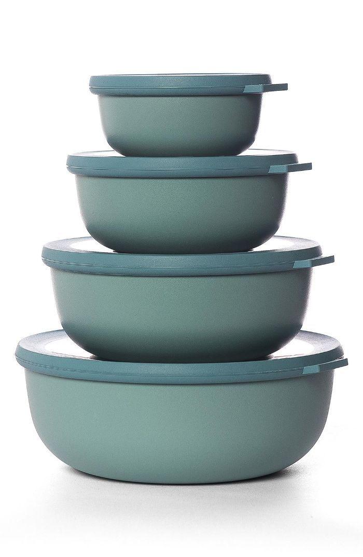 Rosti Mepal Cirqula Set Of 4 Storage Bowls